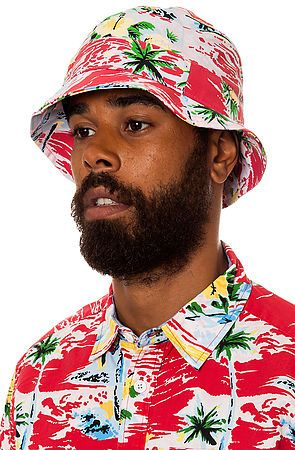 The Sadistic Bucket Hat in Red by Mishka
