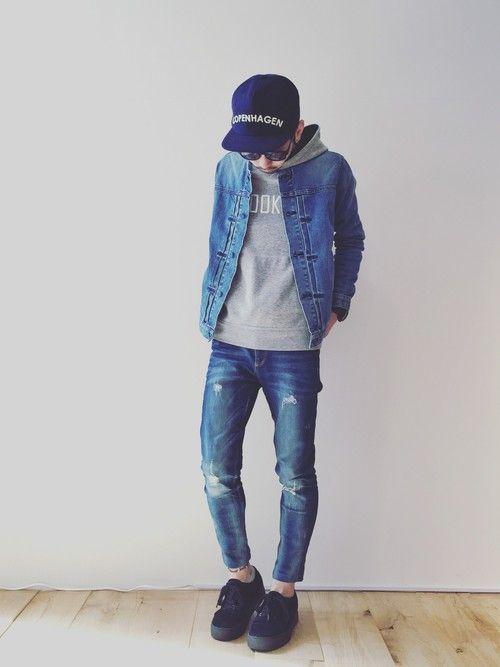 KUROのノーカラージャケットを使ったYUSUKE5のコーディネートです。WEARはモデル・俳優・ショップスタッフなどの着こなしをチェックできるファッションコーディネートサイトです。