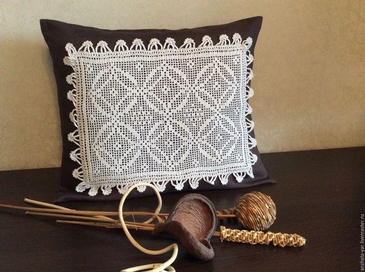 Купить Декоративная наволочка на подушку - комбинированный, наволочки на подушки, наволочка декоративная, наволочки, подарок, интерьер