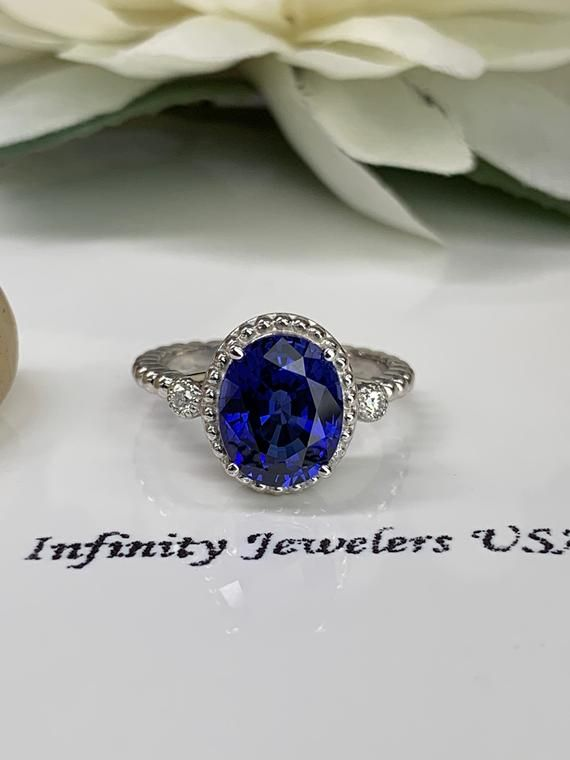 3.00ct 14k Solid Yellow Gold Ladies Solitaire Pear Shape Natural Blue Topaz Ring