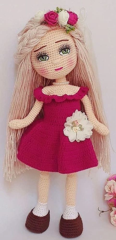 56+ Cute and Amazing Amigurumi Doll Crochet Pattern Ideas – Page 41 of 56