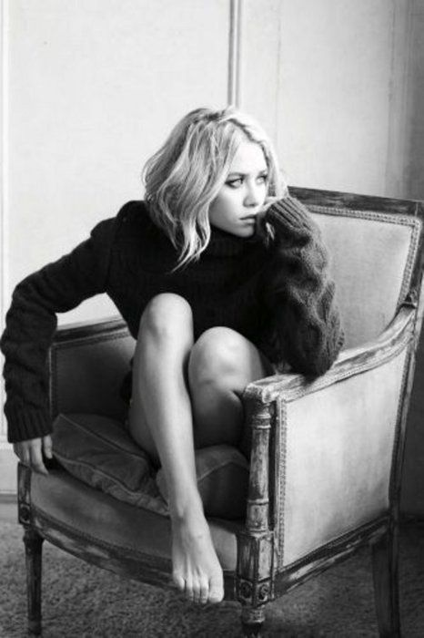 Ashley Olsen for Marie Claire photo shoot. Photographer: Mark Abrahams