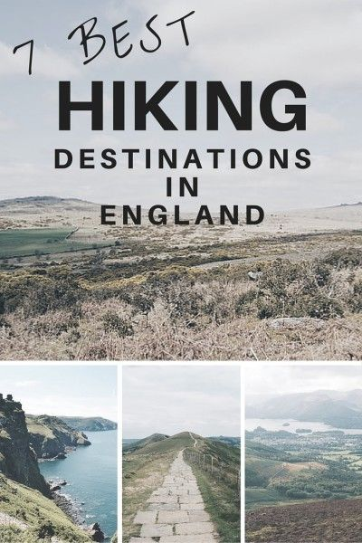 7 Best Hiking Destinations in England | wanderthemap.com/...
