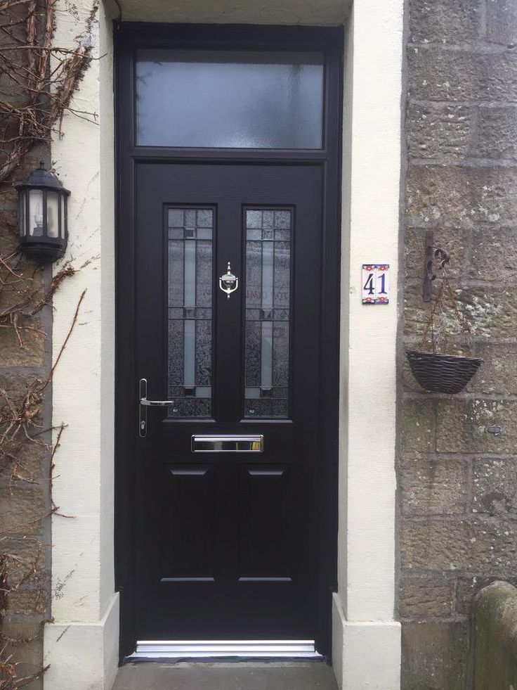 A black Jacobean with Apollo glass. #rockdoor #homedecor
