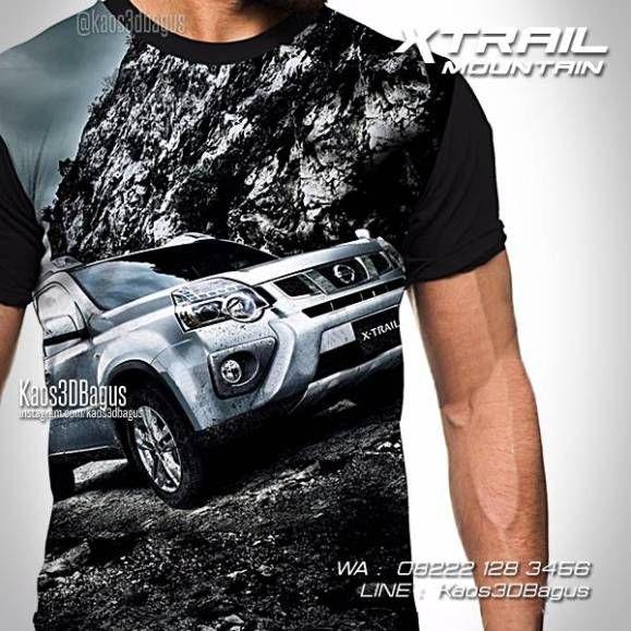 Kaos NISSAN XTRAIL, Kaos Mobil, Kaos Klub Nissan XTrail, Kaos3D, WA : 08222 128 3456, LINE : Kaos3DBagus, https://kaos3dbagus.wordpress.com/2016/04/29/kaos-mobil-3d-kaos-3d-gambar-mobil-kaos-klub-mobil-indonesia/