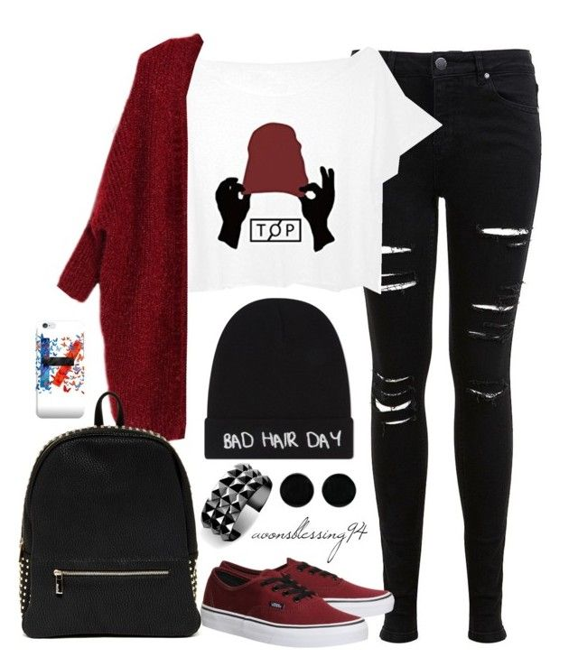 """""""Twenty One Pilots Kind Of Day"""" by avonsblessing94 ❤ liked on Polyvore featuring Miss Selfridge, Local Heroes, Deux Lux, Vans, AeraVida and Waterford"""