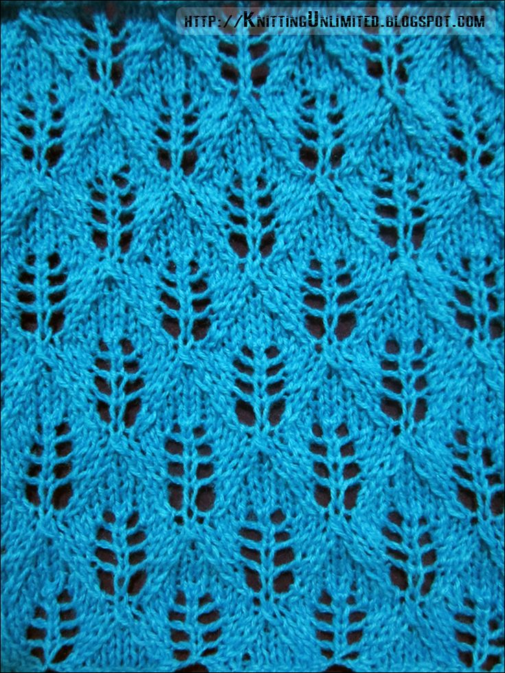 1000 ideas about lace knitting stitches on pinterest