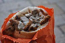 Shawarma - in Jerusalem yummy!