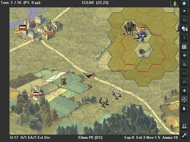 Open General Beta  Description An open source (free) recreation of the SSI Panzer General II turn-based strategy game.  #videogames #retrogaming #computergames