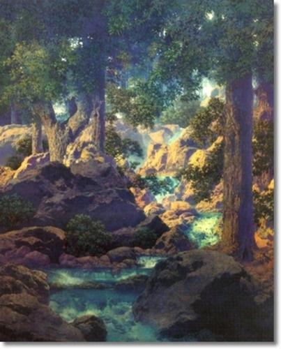 good fishing, Maxfield Parrish: Art Things, Art Ii, Canvas Prints, Art Museums, Artists Maxfield, Art Prints, Landscape Paintings, Art Sake, Paintings Prints