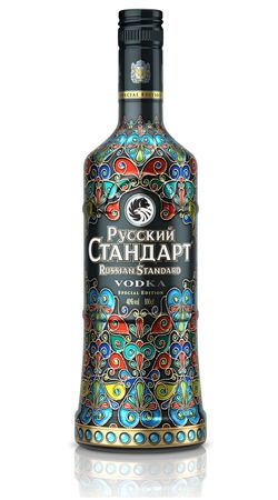 Russian Standard Vodka wears its art on its sleeve | TheMoodieReport.com
