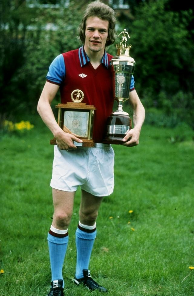 Former Holte End legend Andy Gray