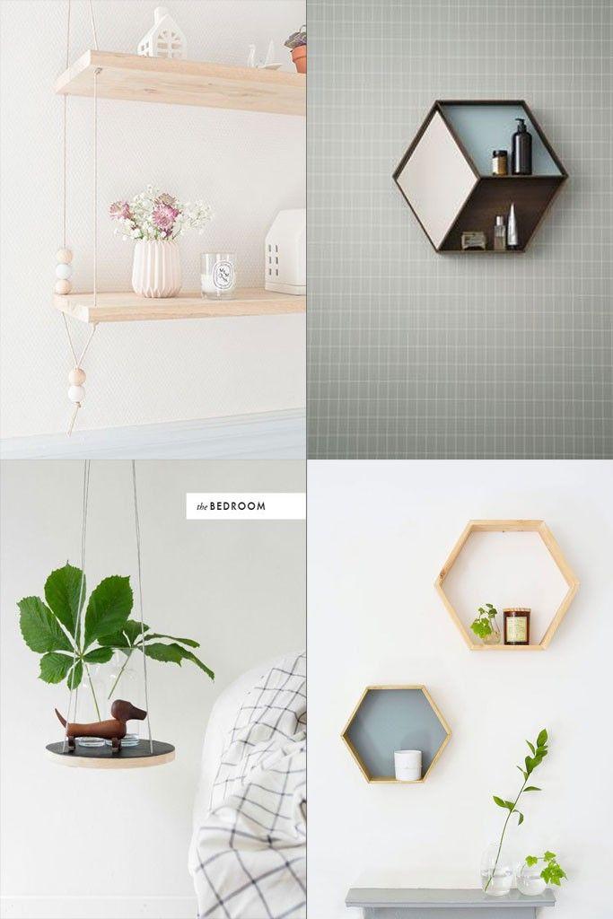 DIY Hyllor av trä | HungryHeart.se