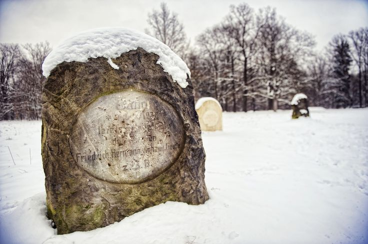 Horse cemetery at Kliczkow Castle. Lower Silesia, Poland.