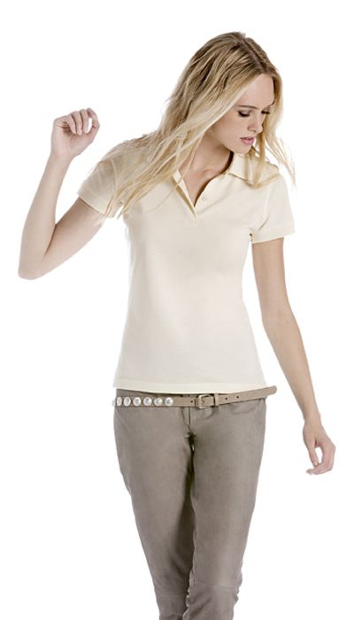 B&C Polo donna 100% cotone biologico Biosfair | Polo | Abbigliamento donna | Mikyart.it