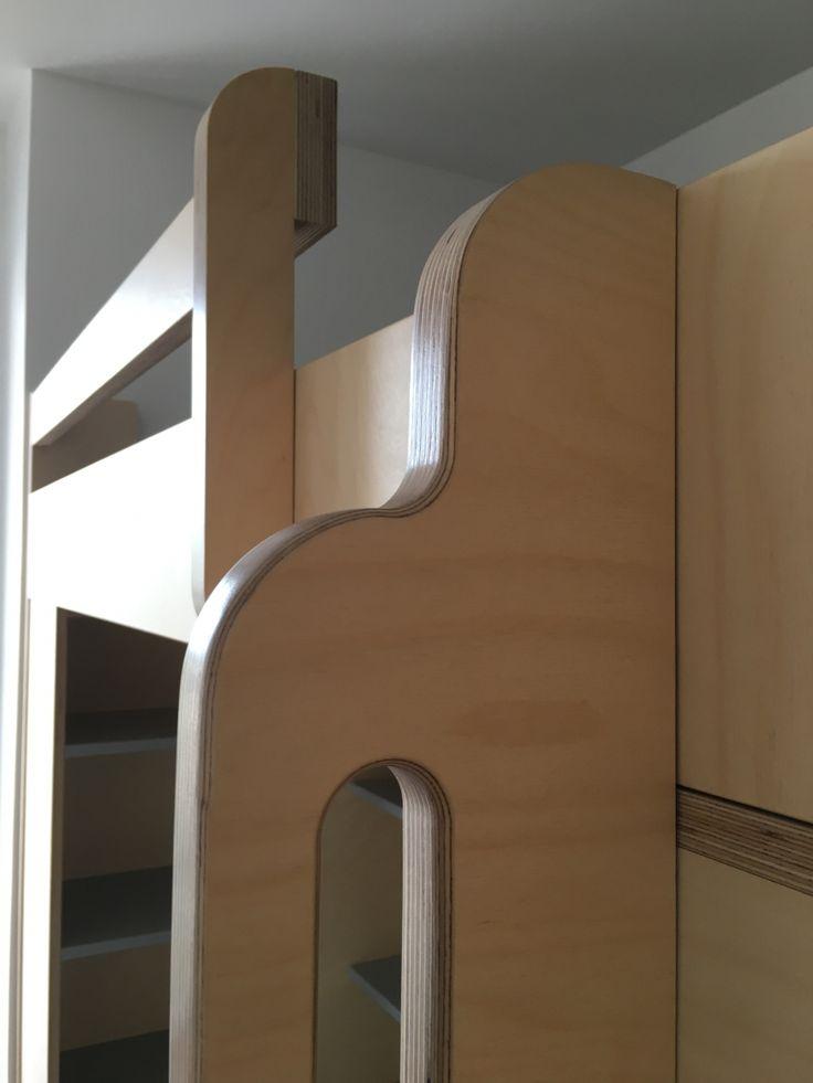 Lit mezzanine sur mesure lit mezzanine deux places - Lit mezzanine sur mesure ...