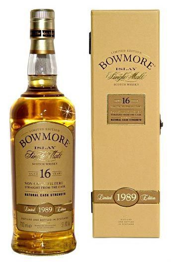 Bowmore single malt scotch whisky, Islay.