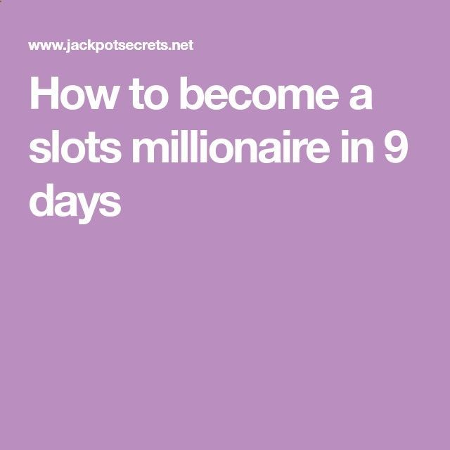 The Manifestation Millionaire How to Become a Millionaire - How to become a slots millionaire in 9 days The Manifestation Millionaire by Darren Regan is an insightful program that teaches you about the skill of harnessing your own power of thinking like a millionaire. The Manifestation Millionaire by Darren Regan is an insightful program that teaches you about the skill of harnessing your own power of thinking like a millionaire.
