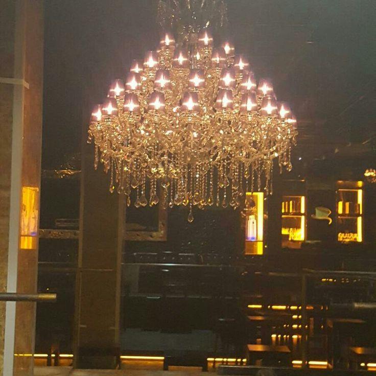50li cam kollu avize Soho Club Antalya