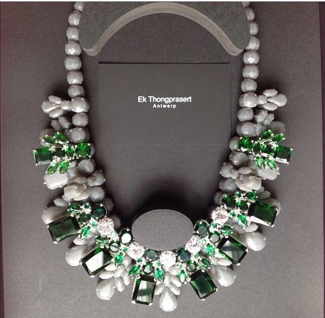 Ek Thongprasert Antwerp necklace