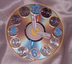 CD - Uhr als Geldgeschenk - creadoo.com