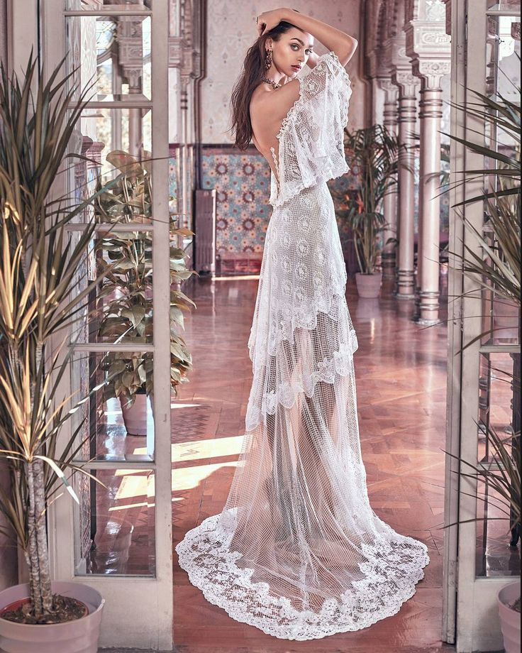 Wild #heart gypsy #soul. The #Lizzy from the #VictorianAffinity collection a #bohochic #weddinggown that is anything but ordinary!