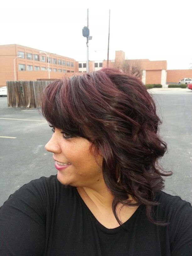 Best 25 plum highlights ideas on pinterest purple highlights burgandy plum and brown highlightsi want this but black hair and burgandy pmusecretfo Choice Image