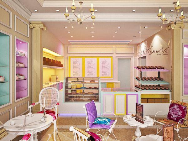 bakery displays ideas | Bakery Interiors
