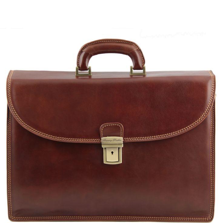 Pompei TL141204 Leather briefcase
