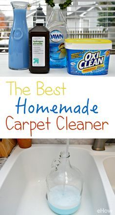 The BEST DIY carpet cleaner! Carpet cleaning solution can be expensive and sometimes leaves an unpleasant smell. It's easy to make your own solution in minutes. This homemade recipe will leave your carpets clean, and your home smelling like fresh laundry. http://www.ehow.com/way_5787069_homemade-recipe-carpet-cleaner.html?utm_source=pinterest.com&utm_medium=referral&utm_content=freestyle&utm_campaign=fanpage