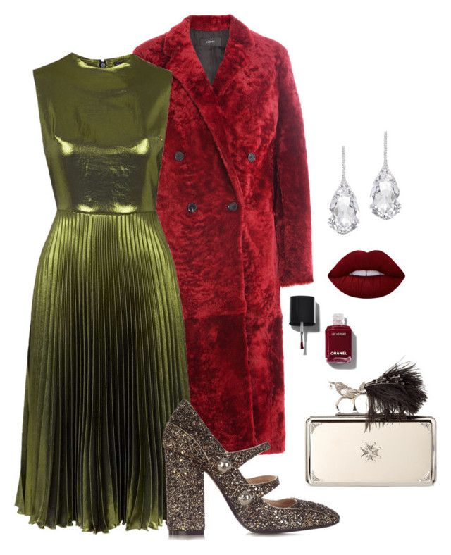 """""""Happy NYE"""" by trend-anonymous on Polyvore featuring Joseph, Topshop, N°21, Chanel, Alexander McQueen, Lime Crime, Plukka, glam, polyvoreeditorial and falltrend"""