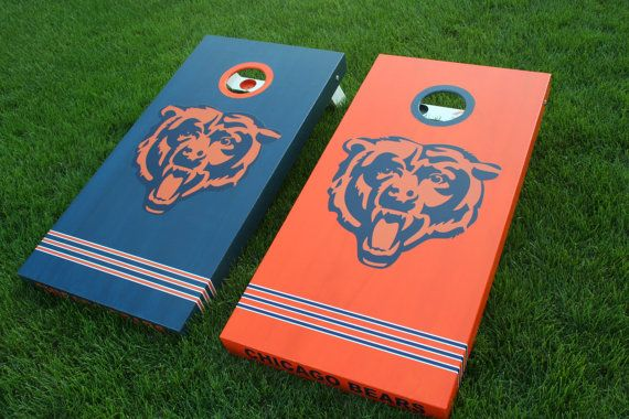 Chicago Bears Cornhole Boards - Custom Made