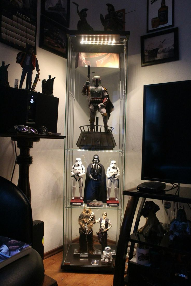 Man Cave Storage Wars : Best images about action figure display cases on pinterest