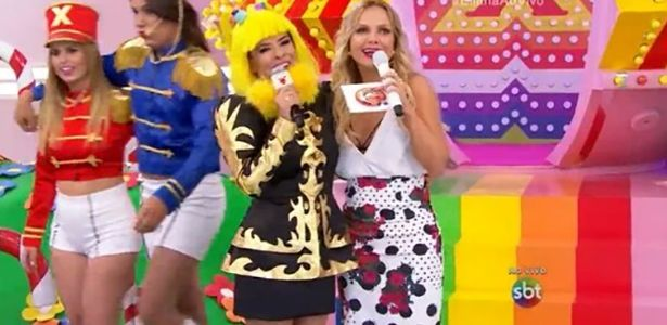 Antes concorrentes, Mara faz cosplay de Xuxa no programa da Eliana #AFazenda, #Apresentadora, #Carreira, #Disney, #Eliana, #Fama, #Grupo, #Loira, #M, #Manchete, #MaraMaravilha, #Programa, #Reality, #RealityShow, #Sbt, #Show, #Status, #Tv, #TVManchete, #Twitter, #Xuxa, #Xuxanarecord http://popzone.tv/2016/03/antes-concorrentes-mara-faz-cosplay-de-xuxa-no-programa-da-eliana.html