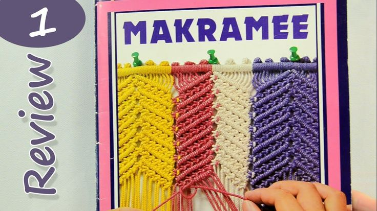 Old German Magazine about Macrame / Review