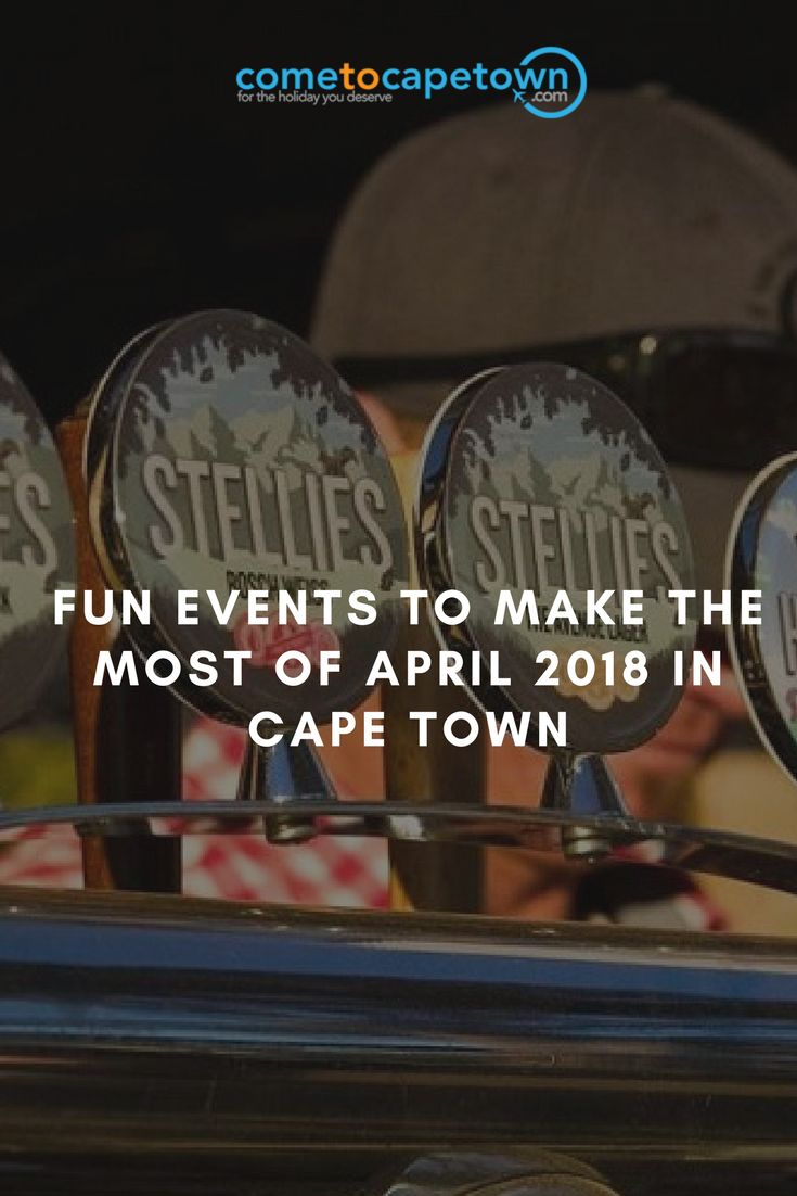 Wondering what to do this April 2018 in Cape Town? Let's take a look at some of the most noteworthy events taking place this month in Cape Town and surrounds…