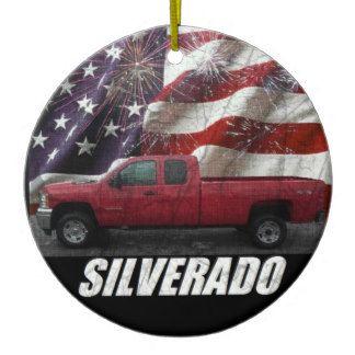 2013 Silverado 2500HD Ext Cab W/T Long Bed 4x4 Ceramic Ornament