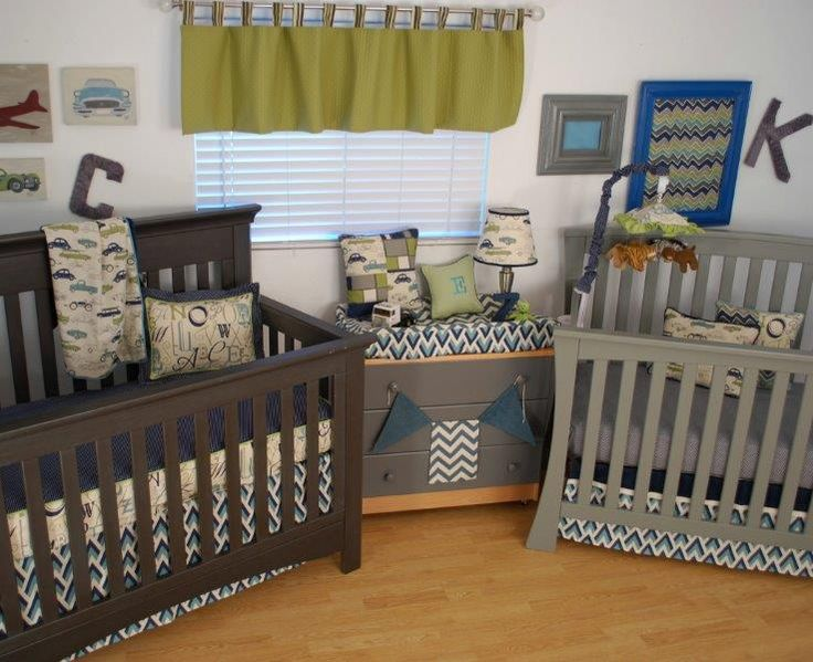 Twins Cribs Nursery Decor Babies Pinterest Pond Design Babies And Nurseries