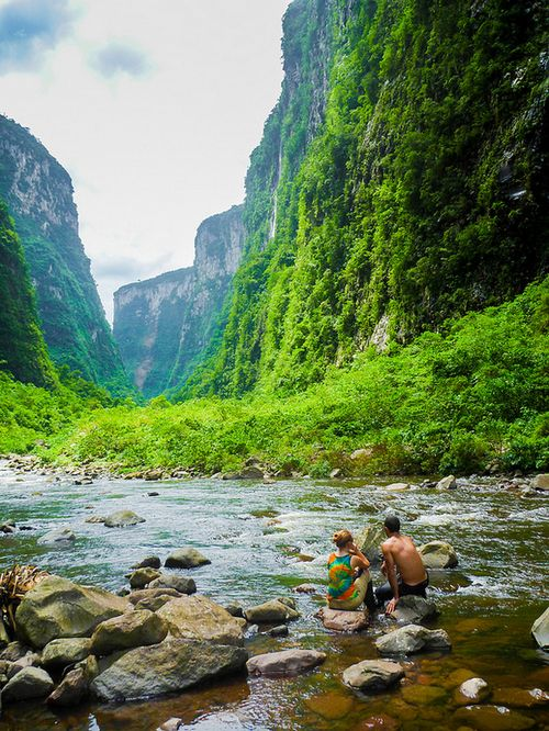 Tumblr - Canyon Itaimbezinho - Santa Catarina/Rio Grande do Sul (by Lucas Brentano)
