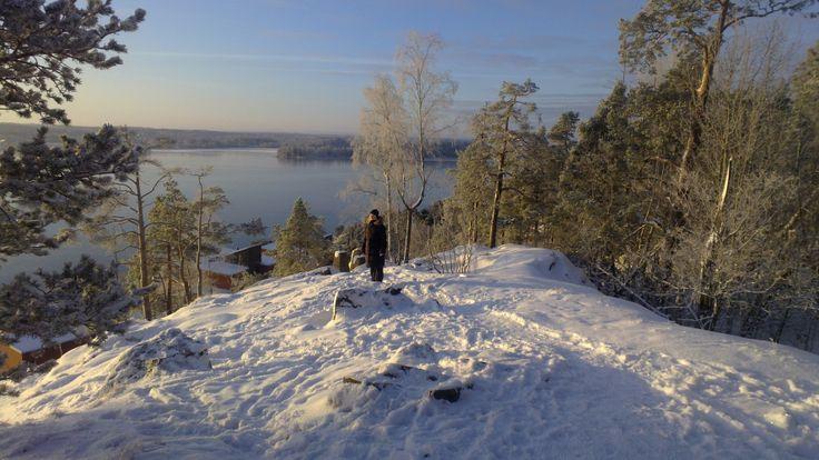 Winter feelings in #Tampere Pyynikki