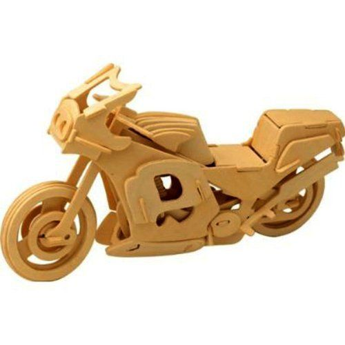 3-D Wooden Puzzle - Racing Motorcycle... (bestseller)