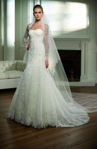 Pronovias 'Respiro' size 6 used wedding dress - Nearly Newlywed