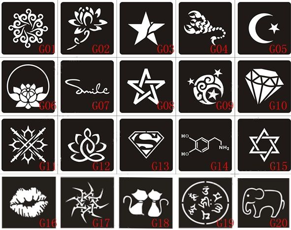 Купить товар20 шт. хна татуировки трафарет и шаблона для живописи, Аэрограф татуировка трафареты для татуировок 6 X 6 см и 10 X 6 см в категории Восковки татуировкина AliExpress. 20 шт. хна татуировки трафарет и шаблона для живописи, Аэрограф татуировка трафареты для татуировок 6 X 6 см и 10 X 6 см