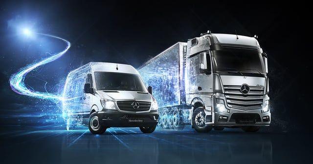 3D Animation for Mercedes Nutzfahrzeuge - IAA 2014 Nutzfahrzeuge  The entire…