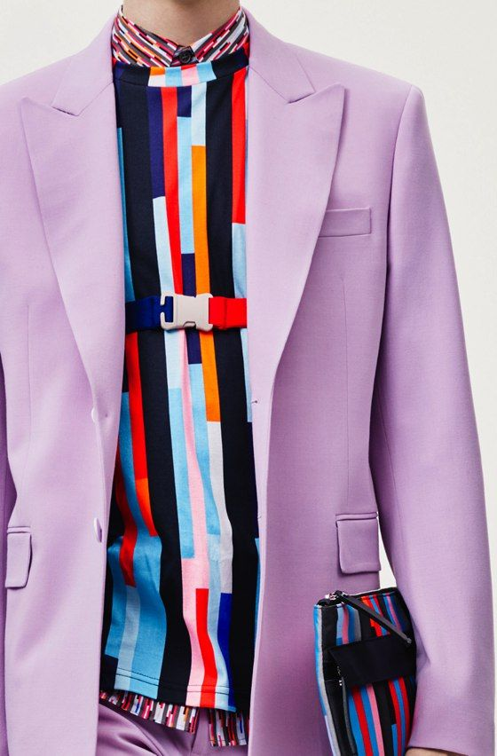 patternprints journal: PRINTS, PATTERNS, TEXTURES AND TEXTILE SURFACES FROM MENSWEAR S/S 2016 COLLECTIONS / Christopher Kane