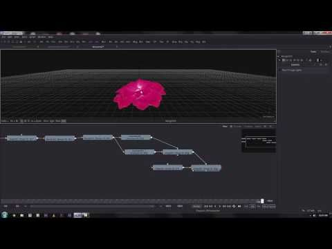 Blackmagic Fusion Tutorial _ flower animation
