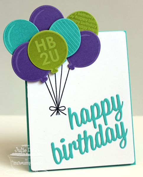 Birthday Cards Exclusive ~ Happy birthday card by stampinjewelsd cards and paper crafts at splitcoaststampers mft