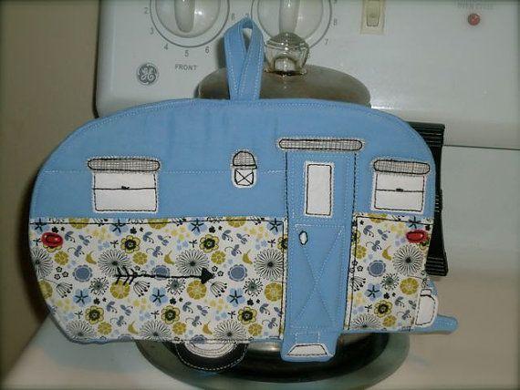Made to order,Camping Potholder, Camper potholder,  choose a style and color on Etsy, $20.00