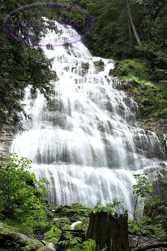 Bridal Veil Falls near Chilliwack, BC.