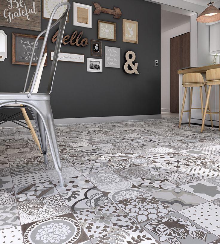 Ambientaciones cer mica san lorenzo porcelanatos for Pisos ceramicos para garage